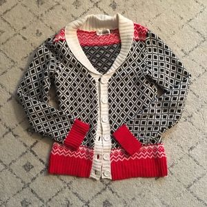 Urban Outfitters patterned cardigan small